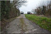 TR2257 : Path off School Lane by N Chadwick