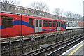 TQ3982 : DLR Train, West Ham by N Chadwick