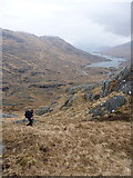 NM9198 : Heading up to the NE ridge of Ben Aden by Richard Law