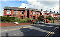 ST2688 : Brick houses, St John's Crescent, Rogerstone by Jaggery