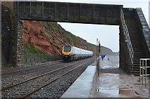 SX9777 : Footbridge, South Devon Railway Seawall by N Chadwick