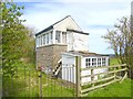 NU0321 : Old signal box at Roseden Crossing by Oliver Dixon
