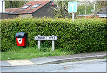 TM2649 : Moor's Way sign by Geographer