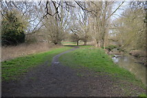 TQ2067 : London Loop by the Hogmill River by N Chadwick
