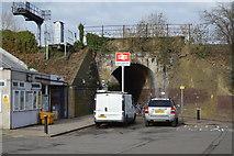 TQ1968 : Railway Bridge by Berrylands Station by N Chadwick