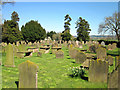 SJ4967 : The Churchyard at St Andrew's Church, Tarvin by Jeff Buck