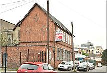 J3373 : Former school, Apsley Street, Belfast - May 2018(1) by Albert Bridge