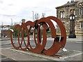 NZ2563 : Public art work, West Street, NE8 by Mike Quinn