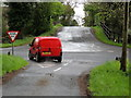 H4865 : Intersecting roads, Tullyrush by Kenneth  Allen
