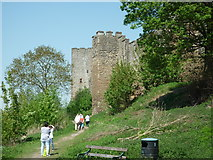 SO5074 : Ludlow Castle (South-West Tower & West Tower) by Fabian Musto