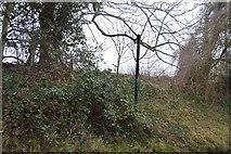 TR2256 : Footpath off Bramling Rd by N Chadwick