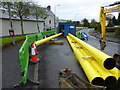 H4572 : Gas pipeline pipes being joined together, Omagh by Kenneth  Allen