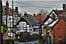 SO3958 : Pembridge, East Street: A view of the New Inn with distractions by Michael Garlick