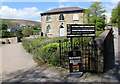 SO2508 : Entrance to Blaenavon World Heritage Centre and Blaenavon Library by Jaggery