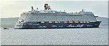 "J3778 : ""Mein Schiff 3"", Belfast Lough (May 2018) by Albert Bridge"