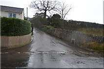 SX9780 : School Hill on a wet day by N Chadwick
