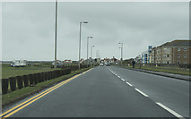 NS3232 : Looking along Beach Road by Malcolm Neal