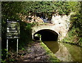SJ8219 : South portal of the Cowley Tunnel by Mat Fascione