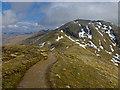 NN6241 : Path descending from Beinn Ghlas by John Allan
