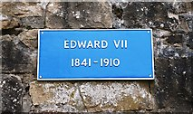 NT0077 : Plaque at Linlithgow Palace by Bill Kasman