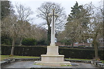 TQ5937 : War memorial, Kent & Sussex Cemetery by N Chadwick