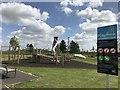 TL2076 : New play park at Alconbury Weald by Richard Humphrey