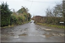 TR2354 : Cooting Lane by N Chadwick
