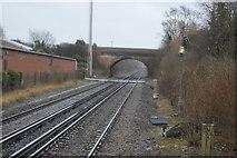 TR2353 : Bridge over Chatham Main Line by N Chadwick