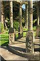 SX9265 : Sun Temple, Tessier Gardens by Derek Harper