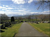 NH5757 : Cemetery, Ferintosh by Euan Nelson