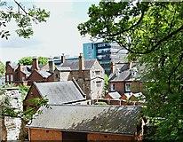 SK5804 : The Newarke Vicinity, Leicester, LE1 by David Hallam-Jones