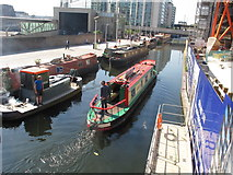 TQ2681 : Lady A and Bantam 68, Paddington Basin by David Hawgood