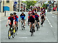 H4572 : Cycling event, Omagh by Kenneth  Allen