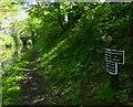 SJ7426 : Shropshire Union Canal milepost at Knighton by Mat Fascione