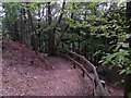 SZ1396 : Hurn: steps from Ramsdown viewpoint by Chris Downer