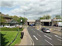 TQ2837 : Haslett Avenue East, Crawley by Robin Webster