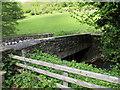SO1824 : Stone bridge over Rhiangoll, Cwmdu, Powys by Jaggery