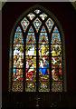 SE1565 : St Cuthbert's, Pateley Bridge - east window by Stephen Craven