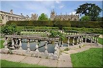 SP0327 : The Queen's Garden, Sudeley Castle by Philip Halling