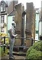 SO7745 : Elgar and Fountain by Mark