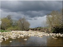 SD7186 : Grey sky over Dentdale by James T M Towill