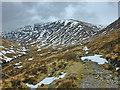 NN2544 : The stalkers' path up Coire Toaig by Nigel Brown