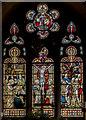 TA1703 : East window, Holy Trinity church, Swallow by Julian P Guffogg