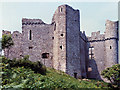 SS4792 : Weobley Castle exterior by Robin Drayton
