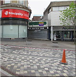 ST1599 : Vacant former Twisted Soul shop, 26 High Street, Bargoed by Jaggery