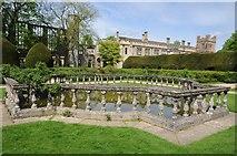 SP0327 : Pond in the Queen's Garden, Sudeley by Philip Halling