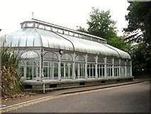 TG2407 : Boulton and Paul conservatory at Carrow House by Evelyn Simak