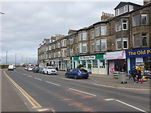 SD4364 : Shops with Flats Above, Marine Road Central by Stephen Armstrong