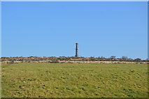 SX3771 : Chimney, top of Kit Hill by N Chadwick