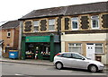 ST1596 : Keith's Fruit & Veg shop in Fleur-de-lis by Jaggery